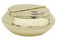 Ashtray brass 10 cm